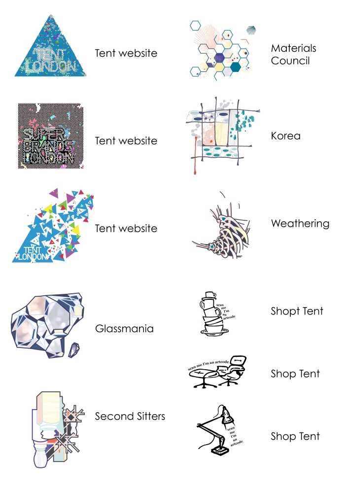Designs for Tent branding