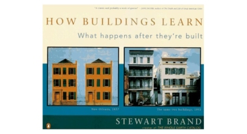The book How buildings Learn by Stewart Brand