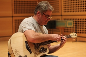 Steve playing Carolan